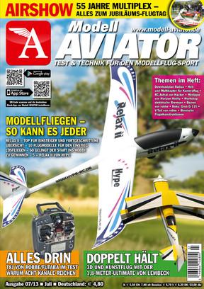 Modell AVIATOR Ausgabe 07/2013