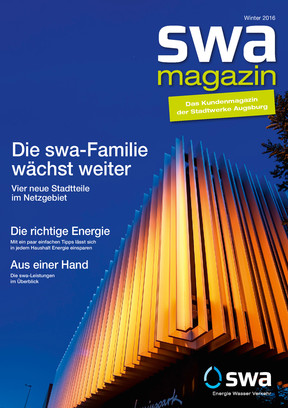 swa Magazin Winter 2016