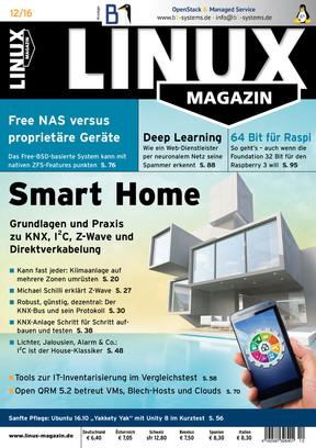 Linux Magazin 12/2016 Linux Magazin