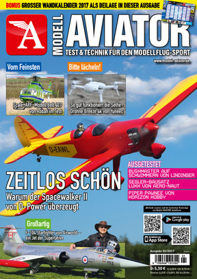 Modell AVIATOR Ausgabe 01/2017