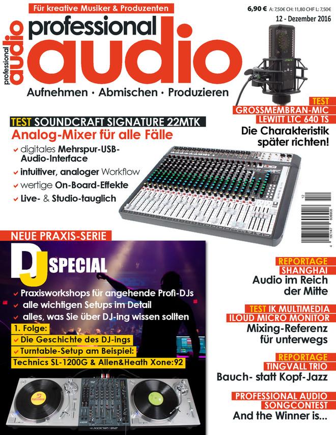 Professional audio 12/2016