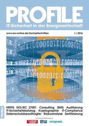 Sonderheft Profile IT-Sicherheit 1/2016