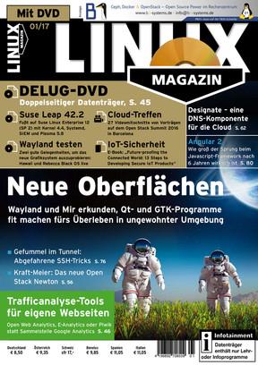 Linux Magazin 01/2017 Linux Magazin