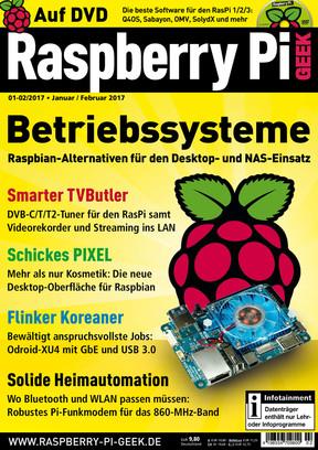 Raspberry Pi Geek 01-02/2017 Raspberry Pi Geek