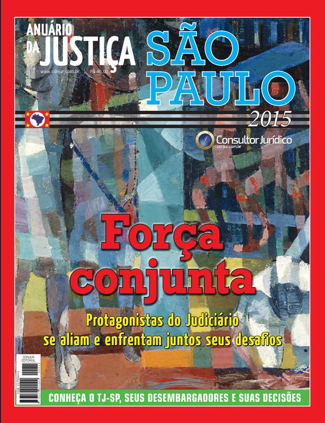 Anuário da Justiça São Paulo 2015