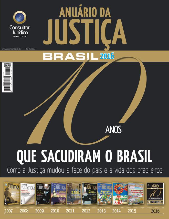 Anuário da Justiça Brasil 2016