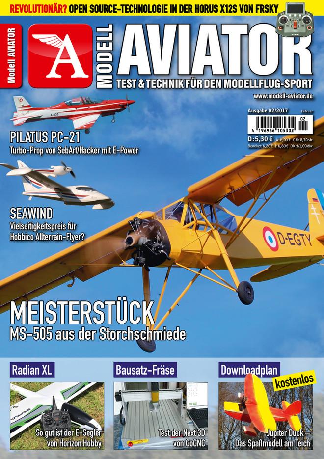 Modell AVIATOR Ausgabe 02/2017
