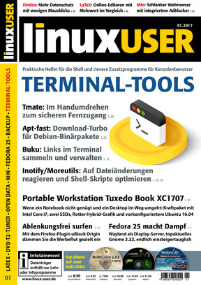 Linux User 01/2017