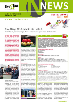 GiveADays News 1.17