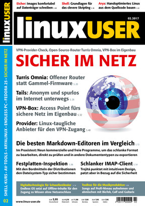 Linux User 02/2017