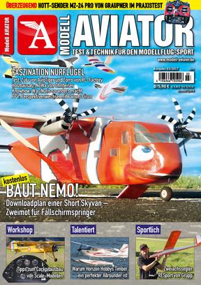 Modell AVIATOR Ausgabe 03/2017