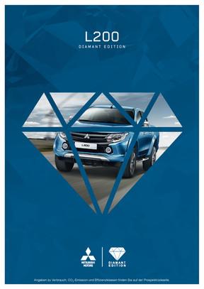 L200 Diamant Edition Sondermodellprospekt 09/2016