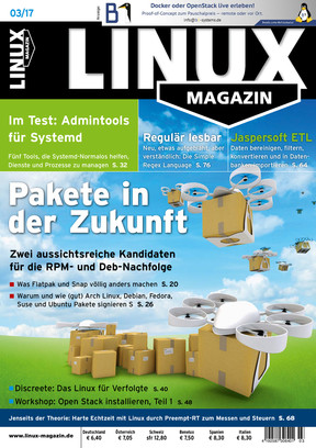 Linux Magazin 03/2017 Linux Magazin