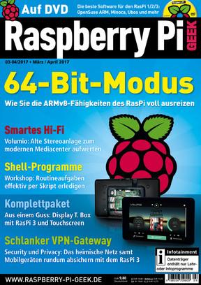 Raspberry Pi Geek 03-04/2017 Raspberry Pi Geek