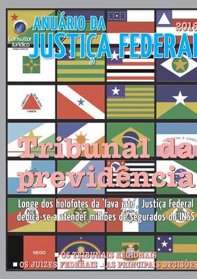 Anuário da Justiça Federal 2016