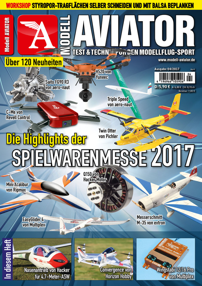 Modell AVIATOR Ausgabe 04/2017