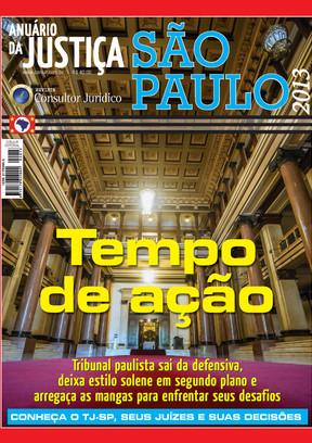 Anuário da Justiça São Paulo 2013