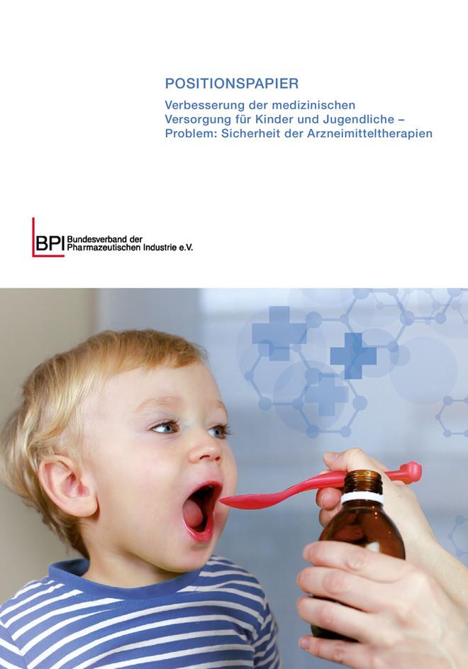 BPI-Positionspapier Kinderarzneimittel