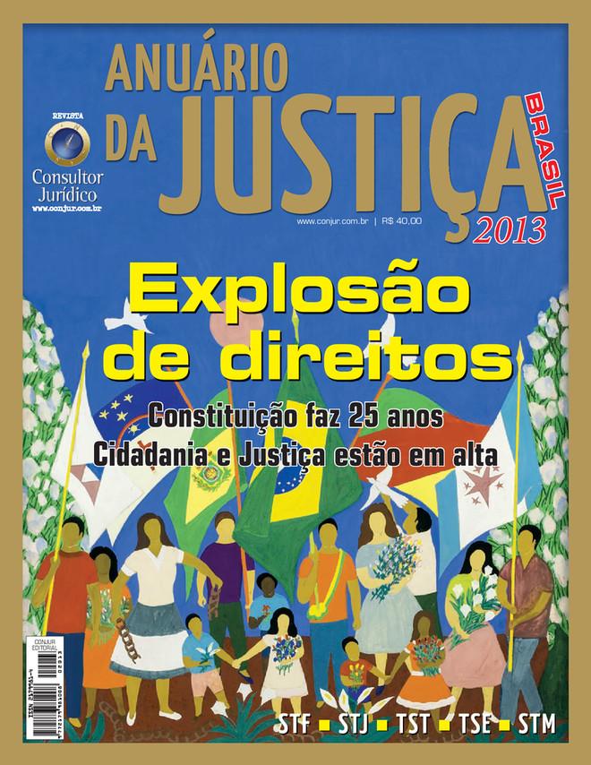 Anuário da Justiça Brasil 2013