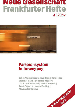 3 | 2017 – Parteiensystem  in Bewegung