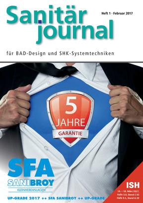 SanitärJournal 1/2017