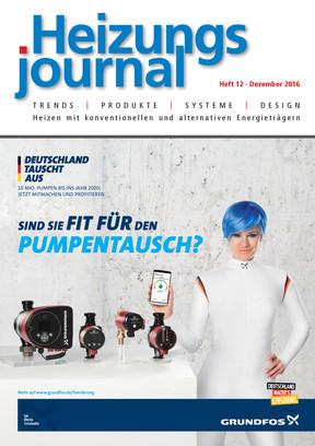 HeizungsJournal 12/2016