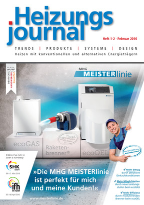 HeizungsJournal 1-2/2016