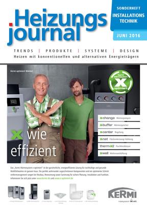 Sonderheft Installationstechnik Heizung 2016