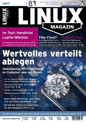 Linux Magazin 04/2017 Linux Magazin
