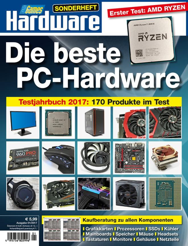 Die beste PC-Hardware 2017: 170 Produkte im Test