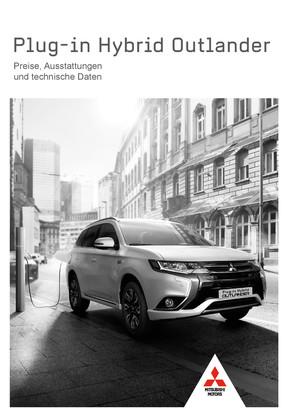 Plug-in Hybrid Outlander Preis- /Datenblatt 02/2017