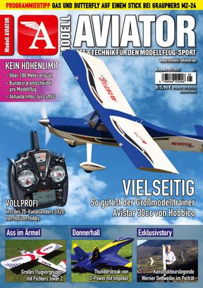 Modell AVIATOR Ausgabe 05/2017