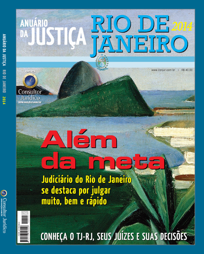 Anuário da Justiça Rio de Janeiro 2014