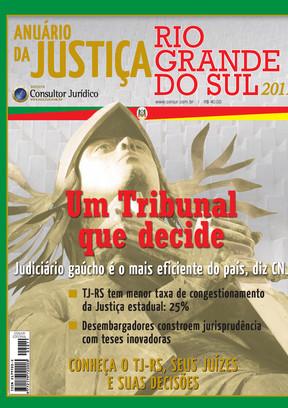 Anuário da Justiça Rio Grande do Sul 2011