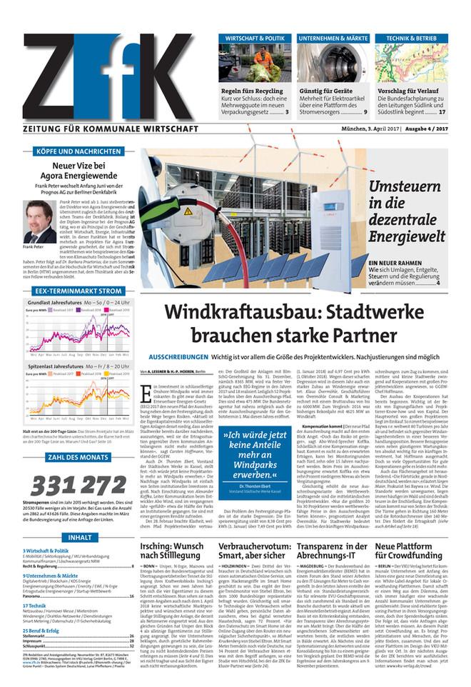 ZfK April 2017 | ZfK – Zeitung für kommunale Wirtschaft