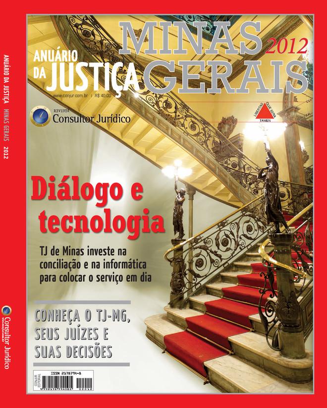 Anuário da Justiça Minas Gerais 2012