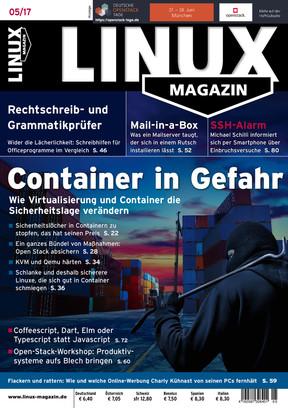 Linux Magazin 05/2017 Linux Magazin