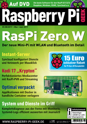 Raspberry Pi Geek 05-06/2017 Raspberry Pi Geek