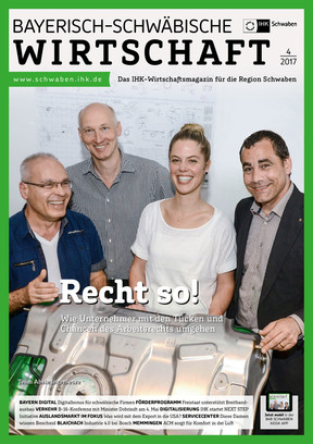 Bayerisch-Schwäbische Wirtschaft 04/2017