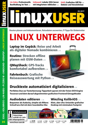 Linux User 05/2017
