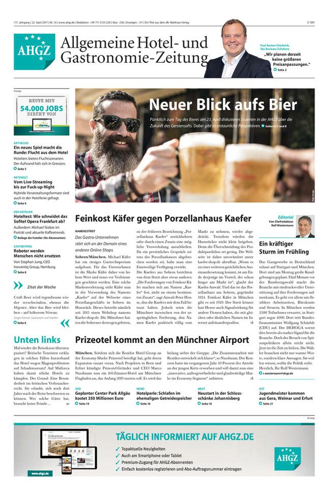 Ausgabe 16 / 2017