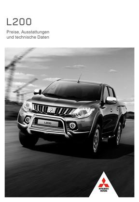 L200 Preis- /Datenblatt 05/2017