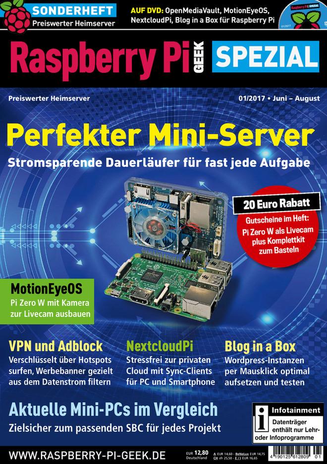 Raspberry Pi Geek Spezial 01/2017