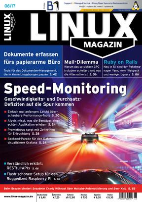 Linux Magazin 06/2017 Linux Magazin