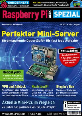 Raspberry Pi Geek Spezial 01/2017 Raspberry Pi Geek