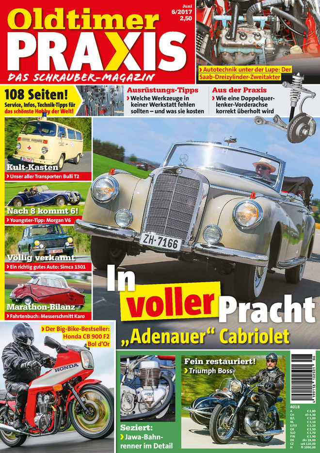 Oldtimer Praxis 62017 Oldtimer Magazine
