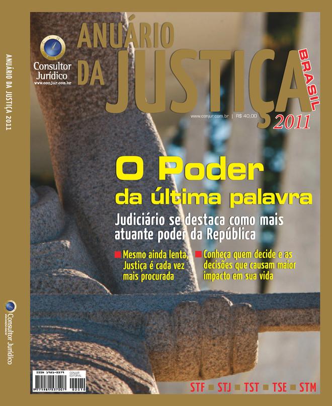 Anuário da Justiça Brasil 2011