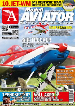 Modell AVIATOR Ausgabe 08/2013