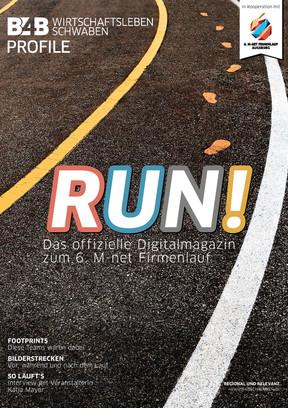 RUN! Das Digitalmagazin zum 6. M-net Firmenlauf