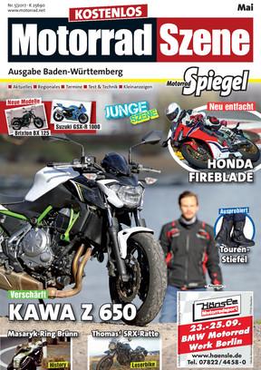 MotorradSzene Spiegel 05/17